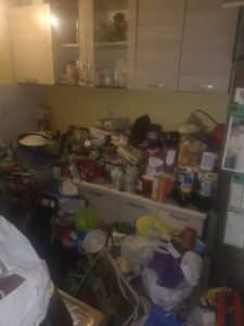 Sprzątanie mieszkania klienta