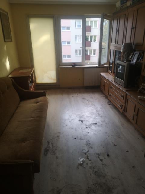 Posprzątane mieszkanie klienta
